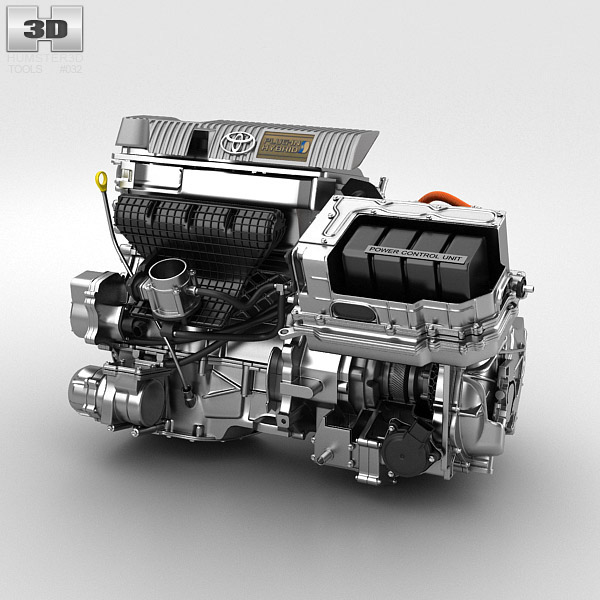 Toyota Hybrid Engine On Behance