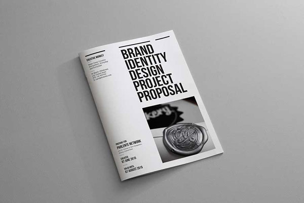 brand identity proposal on behance