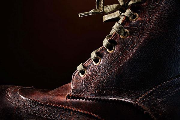 Colin Beckett Photography Colin Beckett chicago photographer still life photographer product leftovers still life boots Walk-Over shoes brown winter polish brush