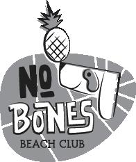 Tiki vegan bar beach dog Pineapple palm mid-century modern
