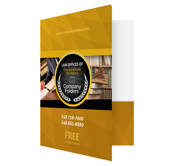 Need To Know Branding Reidel Law Firm: [Free Template] Criminal Attorney Legal Pocket Folder On