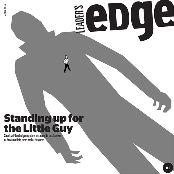 Leader's Edge Cover: Standing up for the Little Guy