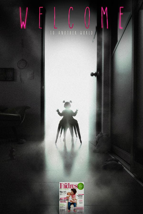 child caminador papas padres another world parents alien