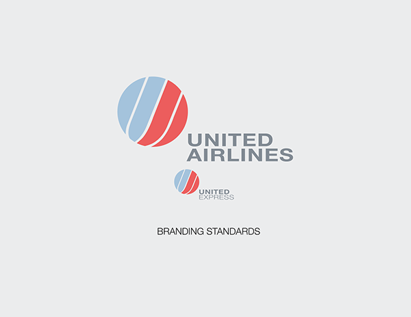 united airlines redesigned on behance