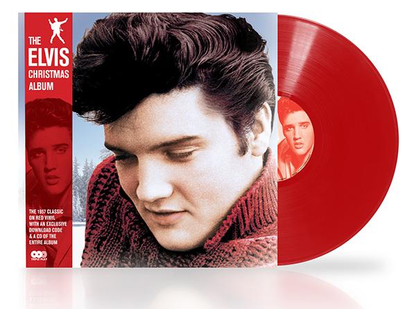 Elvis Christmas Album Vinyl.The Elvis Christmas Album Reissue Red Vinyl On Behance