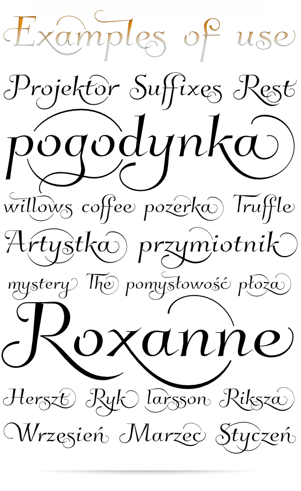 Font Kleymissky Available For Free Download On Glukfontspl