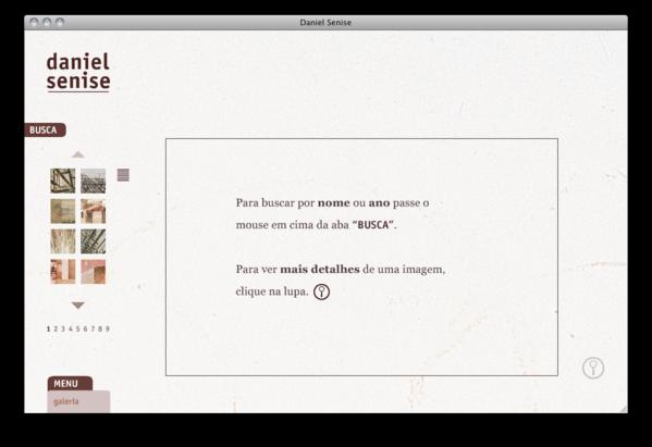 Website artist arts gallery Interface Flash portfolio