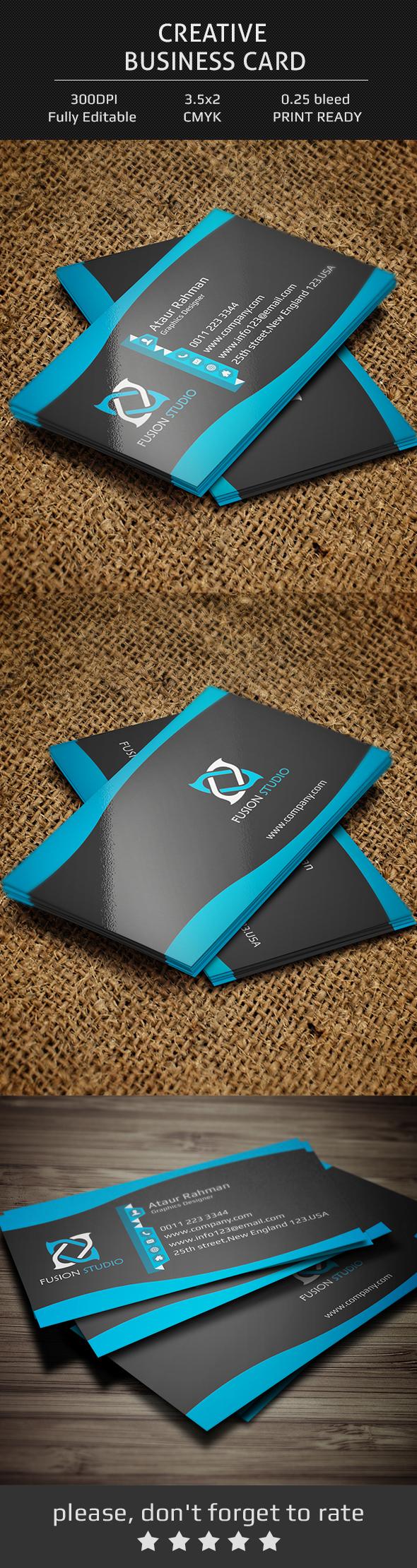Beautiful business card company cool corporate creative designer modern design personal Free Card freebie free download free business card