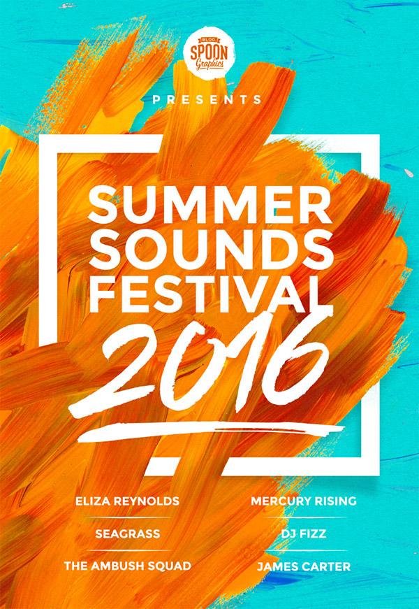 custom summer posters