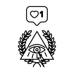 bnomio ilustracion musica cubrir dios griego Zazo y Gxurmet Trampa tattoo flash Line Work