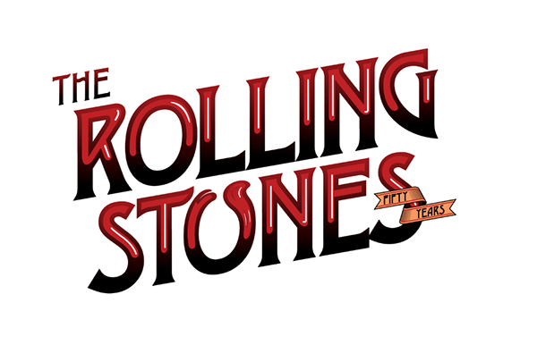 rolling stones 50 new logos project on behance