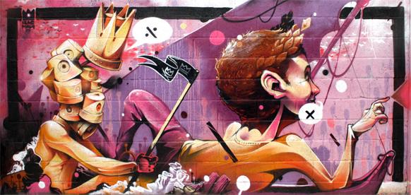 Graffiti  graff  isaacmahow   Spray video aerosol color art cap ares ILLUSTRATION  paint acrylic pink cream