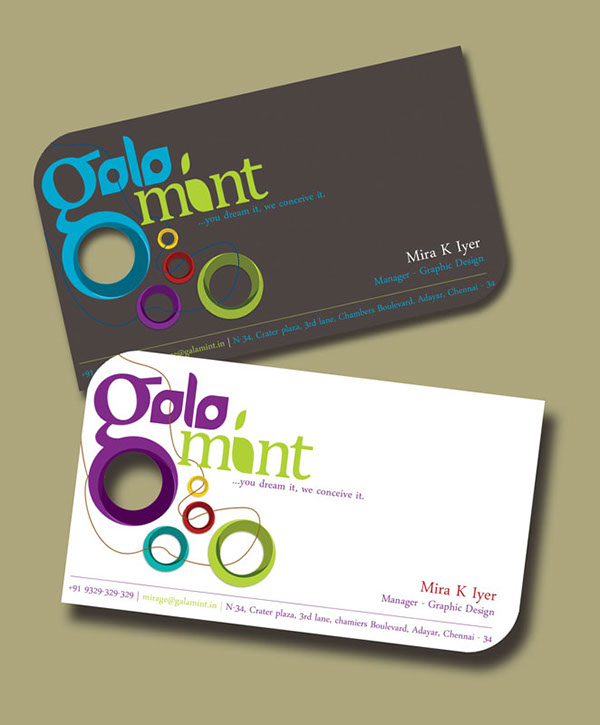 Identity galamint on behance the rings being the various aspects that they have to manage for a successful show event management is to effectively manage all of them colourmoves