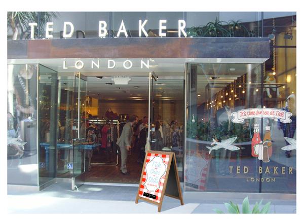 Ted Baker  YCN Packaging  promotion fashion branding ycn Promotion