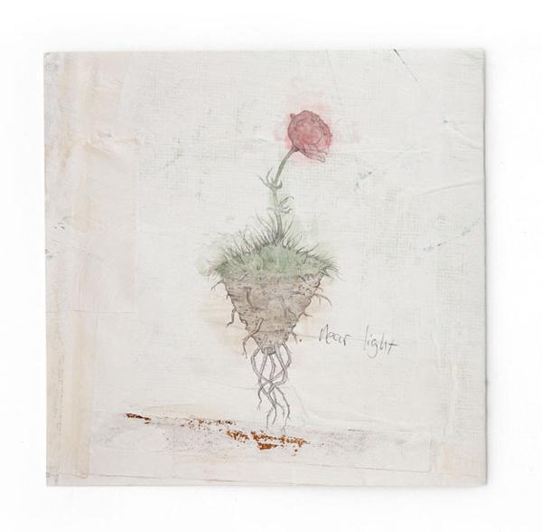 I Did The Illustrations For Ólafur Arnalds Album Called Living Room Songs.