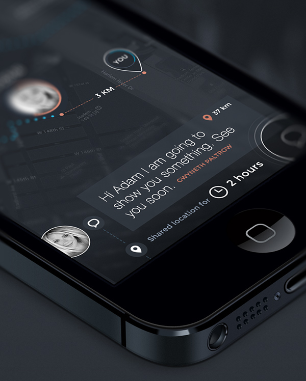 mobile ios PingIn geolocation