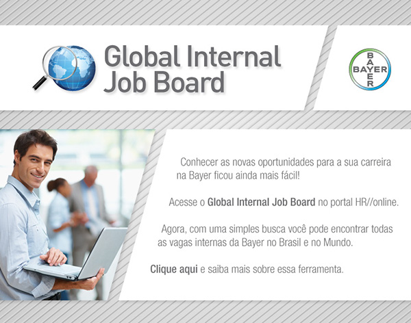 global internal job board on behance