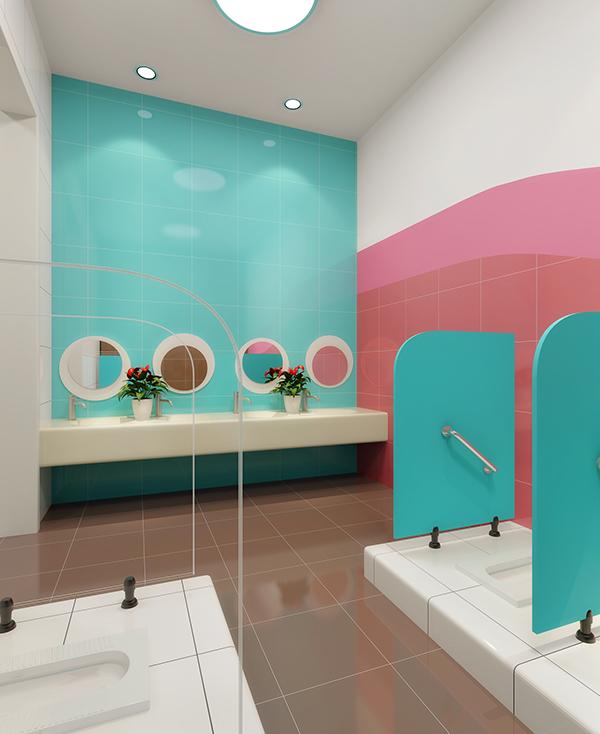 Interior Design Institute Nz: Nanjing 61 Space Preschool And Kindergarten Design On Behance