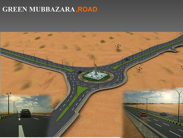 Green mubazara roundabout al ain uae on behance for Diwan roundabout al ain