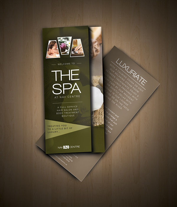 Nav Spa Brochure On Behance