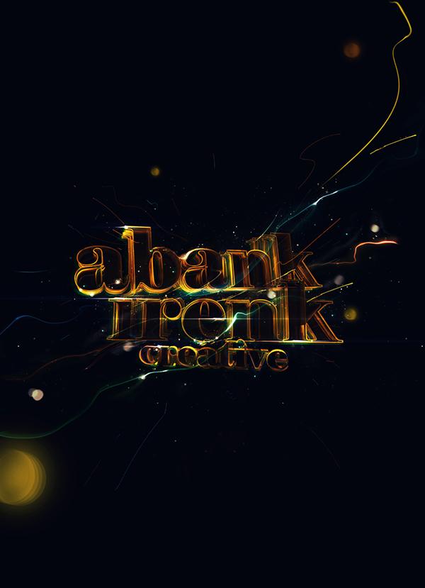 type gold golden lights light abankirenk yearbook year book artwork black typo shine