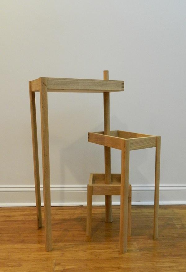 Modular Ash Wood Table On Wacom Gallery
