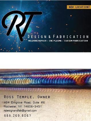 Rt design and fabrication branding on behance current business card design reheart Choice Image