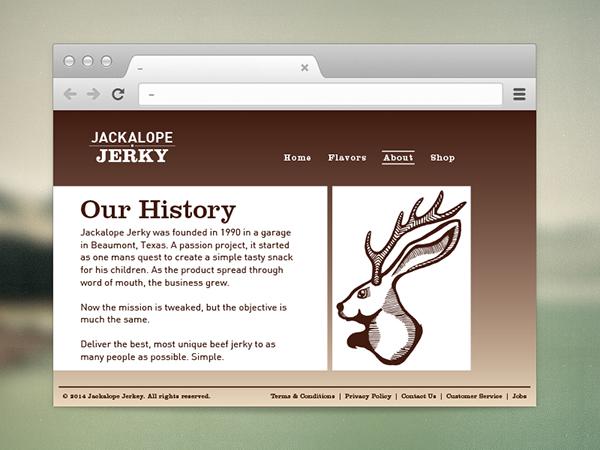 Jackalope Jerky Branding Jackalope Jerky on