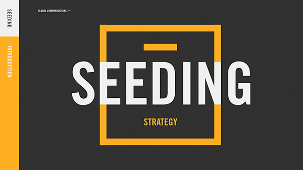 Seeding Strategy [Titles] - Nike Internal Deck on SAIC
