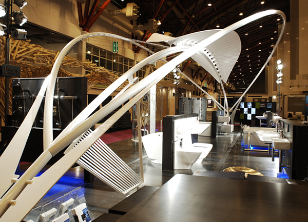 Exhibition Stand Design Jobs London : R o c a exhibition stand london design fair on