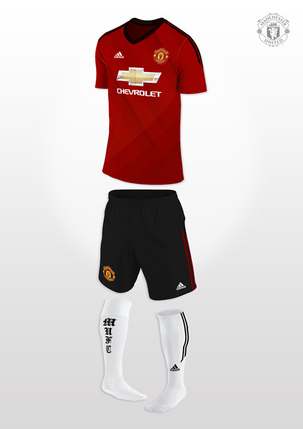 Manchester United 2014/15 Home Kit Concept on Behance