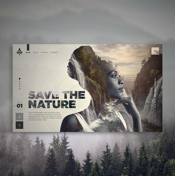 Projeto Save the Nature Interface Web