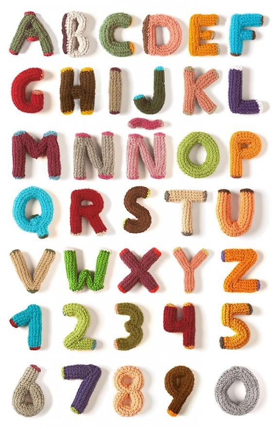 Valentine Amigurumi Free Pattern : Crochet alphabet on Behance