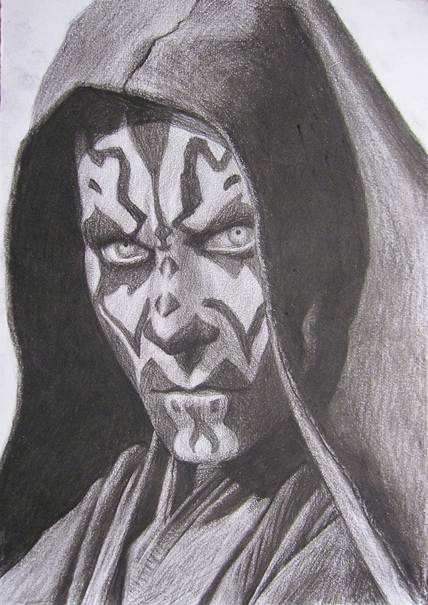 Darth Maul Drawing on Behance