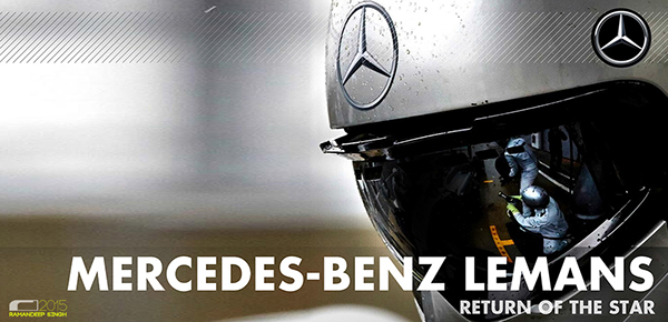 Mercedes Benz Lemans by Ramandeep Singh