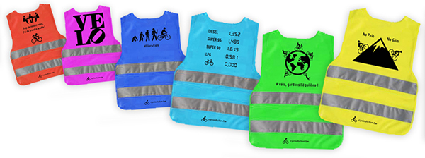 safety jacket fluo chasuble security Urban cycle
