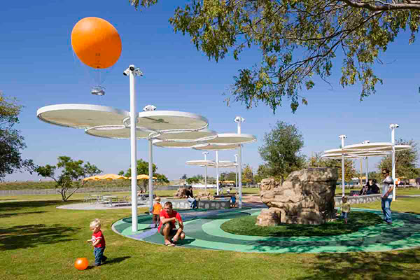 Kids rock on the national design awards gallery for Landscaping rocks orange county
