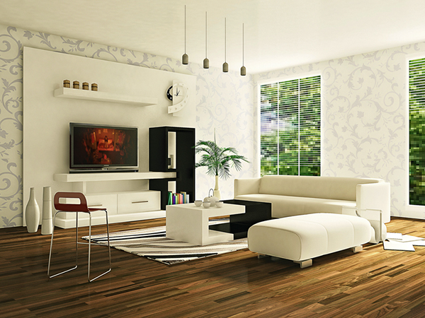 Living room interior design visualization on behance for Living room 3ds max