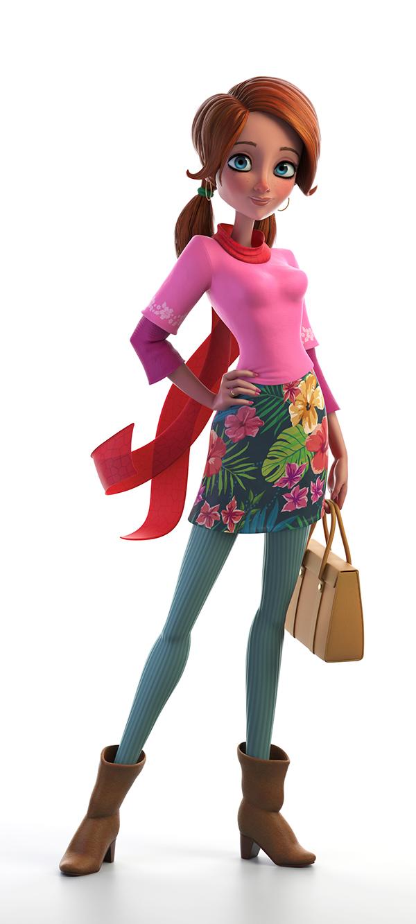 3d Character Design Website : Design art inspirations for the day hangaroundtheweb
