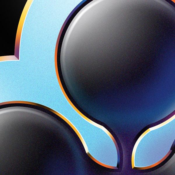 chrome metal 3D 80ies Retro Bicycle logo Bike fixed gear fixie brand velo shimano cinelli colnago