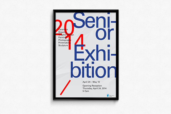 Exhibition Design Graphic Typography