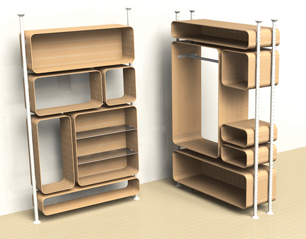 Module Furniture Structure On Behance