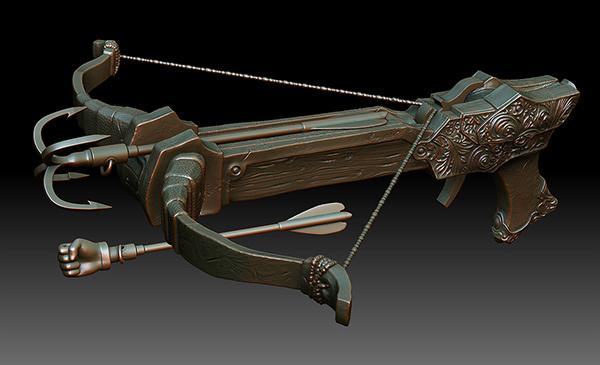 Crossbow 3D print design on Behance