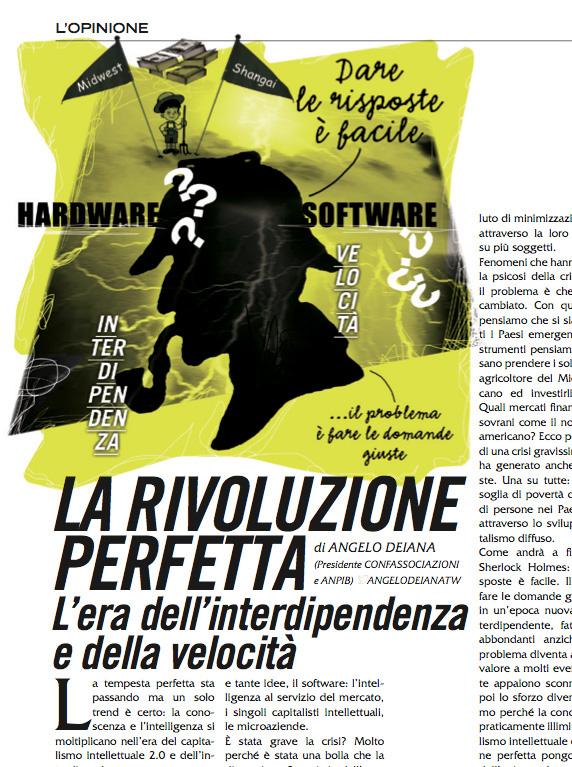 Francesco Mazzenga,illustrazione,Uomo&Manager,magazine