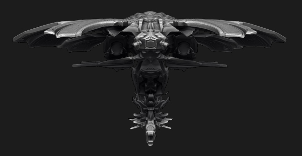 The Moth Starship On Behance