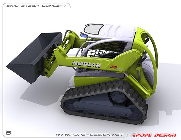 Skid Steer Drivetrain : Track skid steer concept on behance