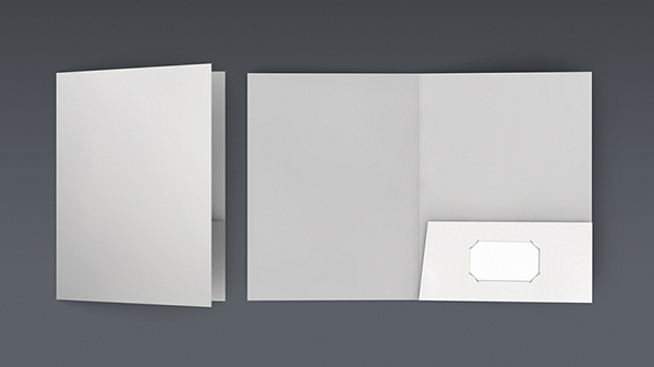 doa pocket folder mock up set on behance