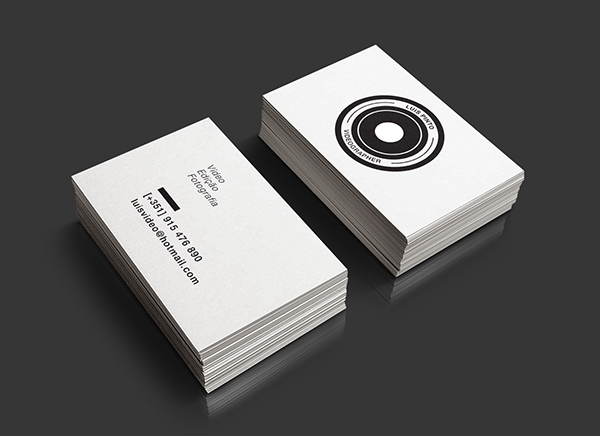 Videographer//Business Card on Behance
