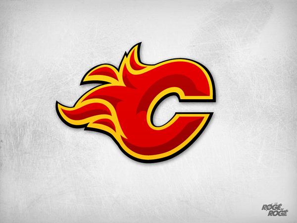 Calgary Flames On Behance