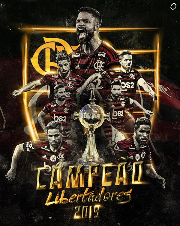 Flamengo Campe U00e3o Libertadores 2019 On Behance